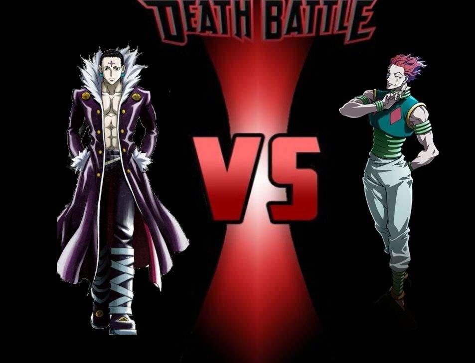 Chrollo Lucilfer Vs Hisoka Morou Hunter X Hunter Death Battle Anime Amino