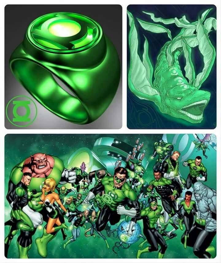 Linterna verde   •Cómics• Amino