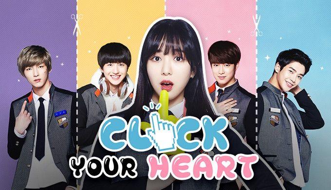 Znalezione obrazy dla zapytania click your heart drama