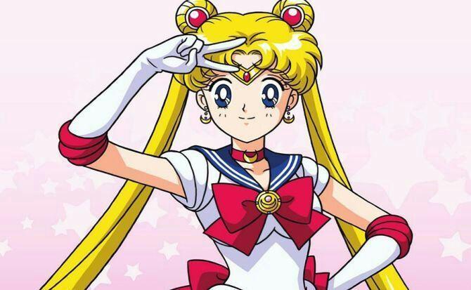 cartoon Sailor moon
