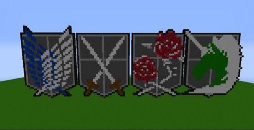 Attack on Titan pixel art   Minecraft Amino