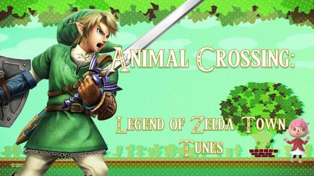 animal crossing legend of zelda town tunes zelda amino