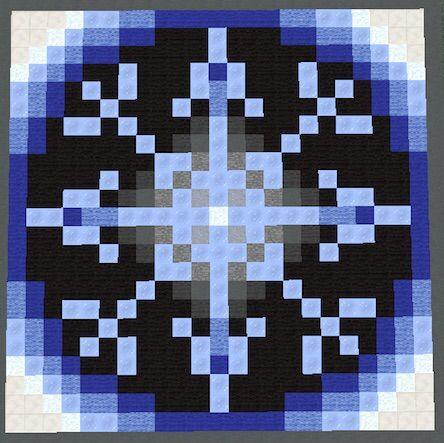Mandalas/floors [Pixel Art] | Minecraft