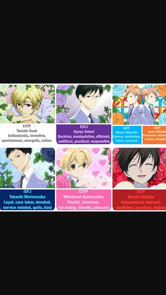 Whose your favorite Ouran high school host club character   Anime Amino