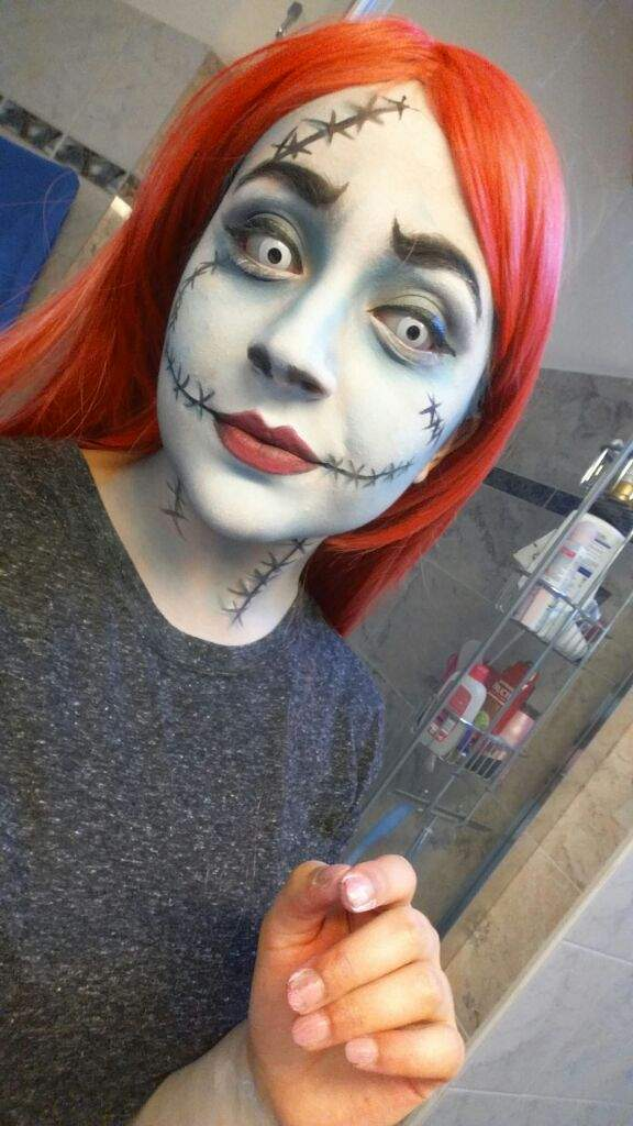 have a nice day geeks - Sally Nightmare Before Christmas Makeup