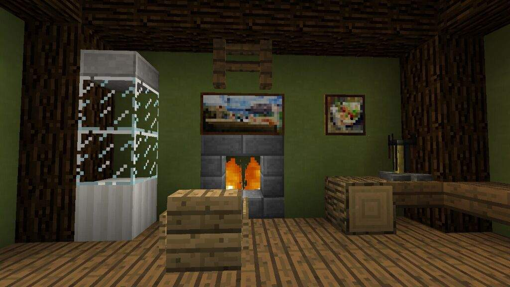 How To Make Fireplace Inside Of Your House Minecraft Amino