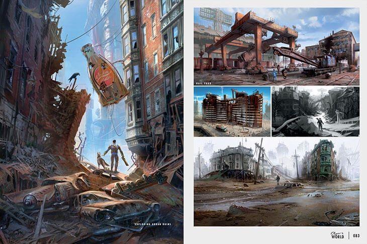 Fallout Concept Art Vault