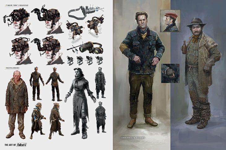 Fallout 4 Concept Art Fallout Amino