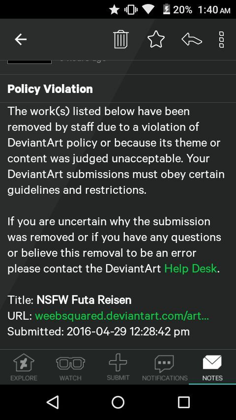 Deviantart Took Down My Waifus Nudes.