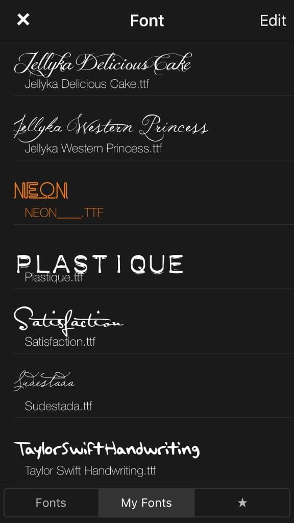 Fonts | Swifties Amino