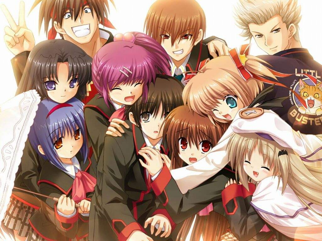 Little Busters And Angel Beats
