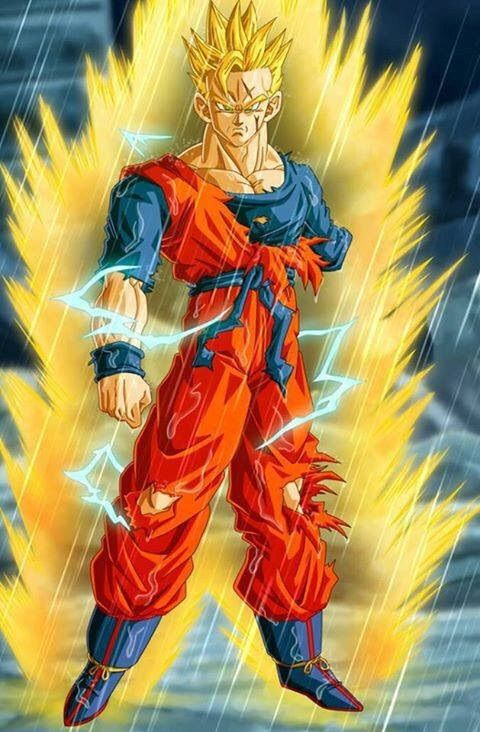 What If Future Gohan Went Ssj2 Against The Androids Dragonballz Amino