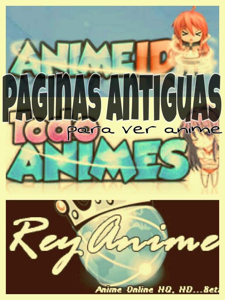 Paginas Antiguas De Anime Anime Amino