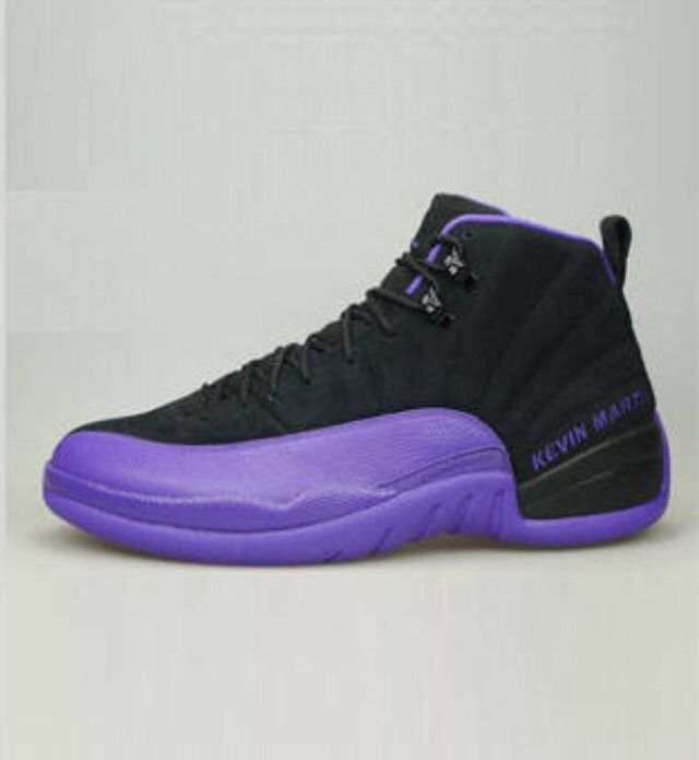 """top fashion cd085 1aa7c I don t know about you guys, but I ve seen a lot of Air Jordan XII PEs and  this pair is my favorite. The Air Jordan XII """"Sacramento Kings"""" Kevin Martin  PE ..."""