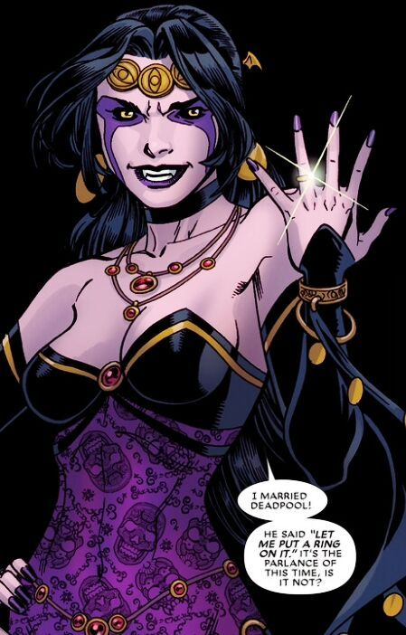 Shiklah: A Loveletter for the Bandwagon Deadpool Fans   Comics Amino