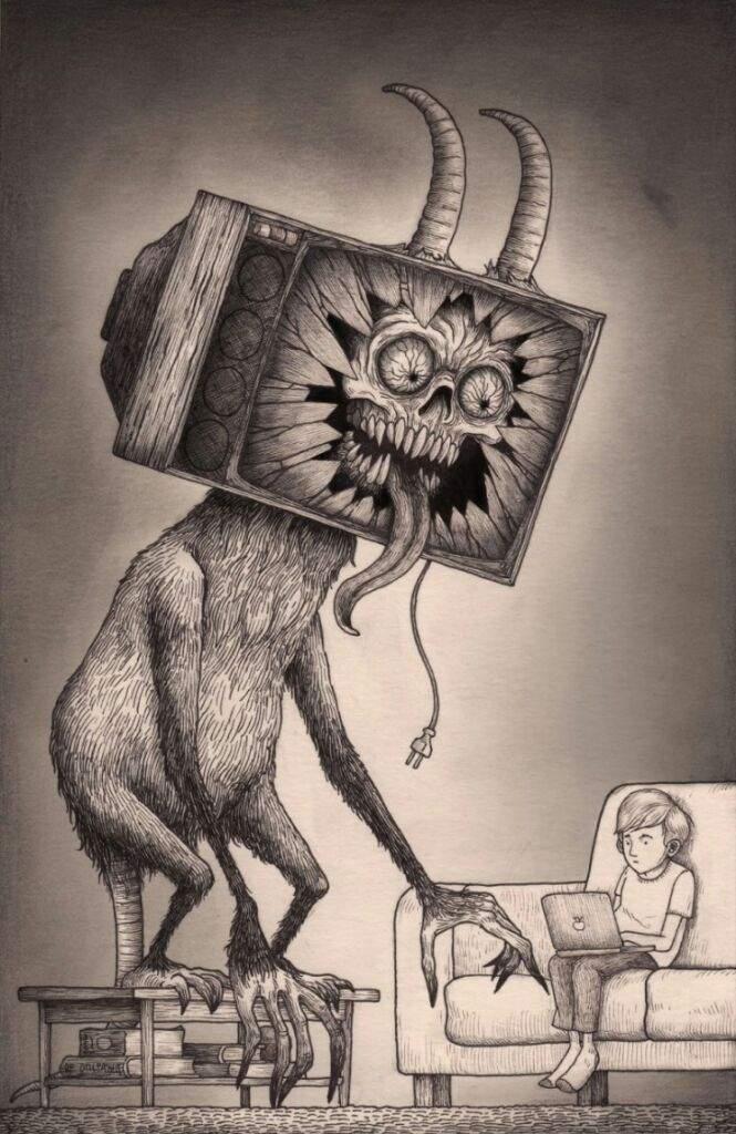 Cool Creepy Art Horror Amino