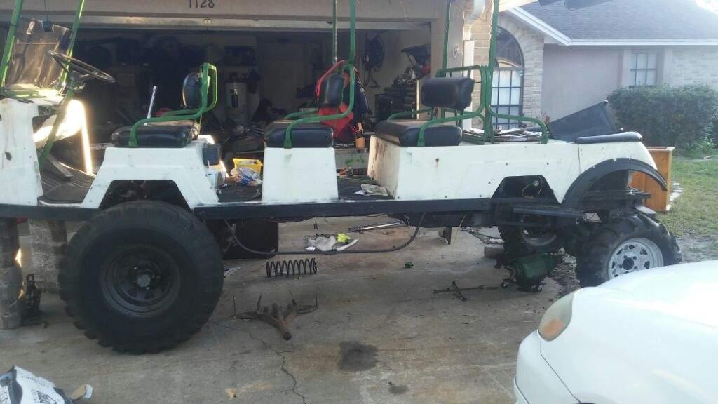 Golf cart build | Garage Amino  X Golf Cart Build on ezgo workhorse cart, 4x4 bus, 4x4 quad, 4x4 side by side, 4x4 off-road cart, 4x4 trailer, 4x4 car, 4x4 utility cart,