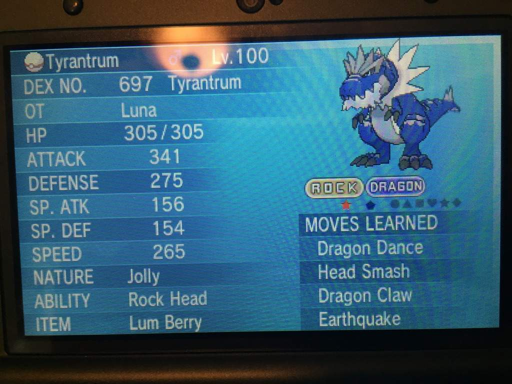 Closed Collab With Yuno Shiny Br Tyrantrum Gts Giveaway