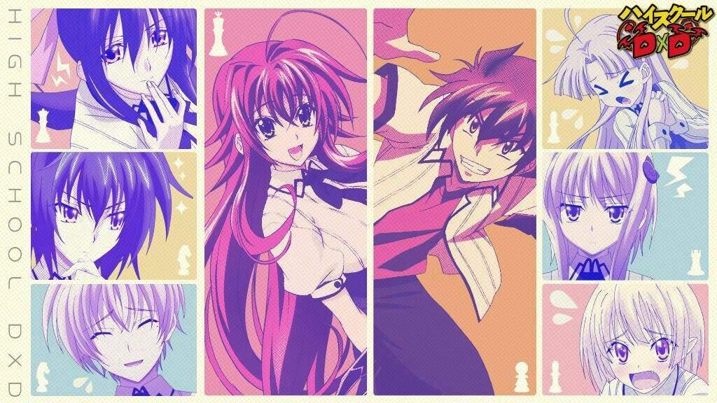 High School Dxd Ex Isseis Kids Spl Anime Amino