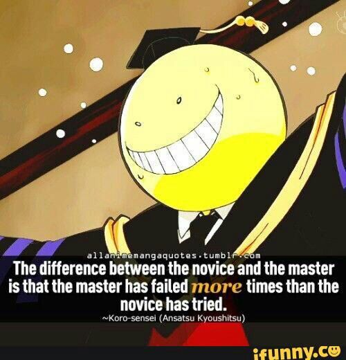 Assassination Classroom Quotes
