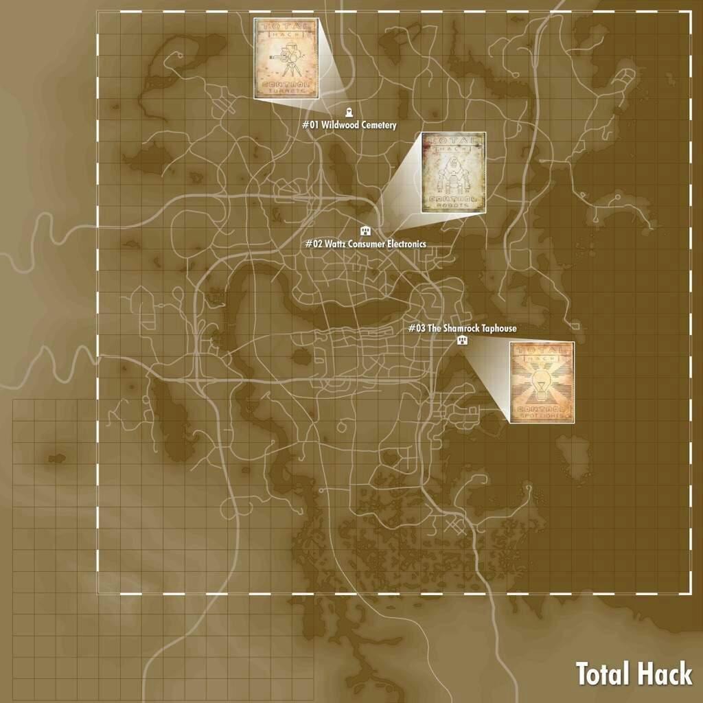 Magazine locations | Fallout Amino