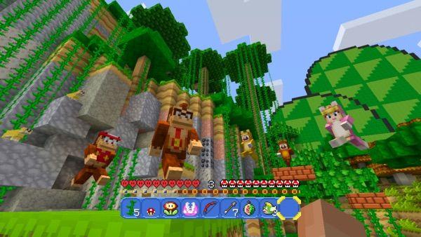 Nintendo Nintendo MashUp Pack Announced For Minecraft Wii U - Skins fur minecraft wii u