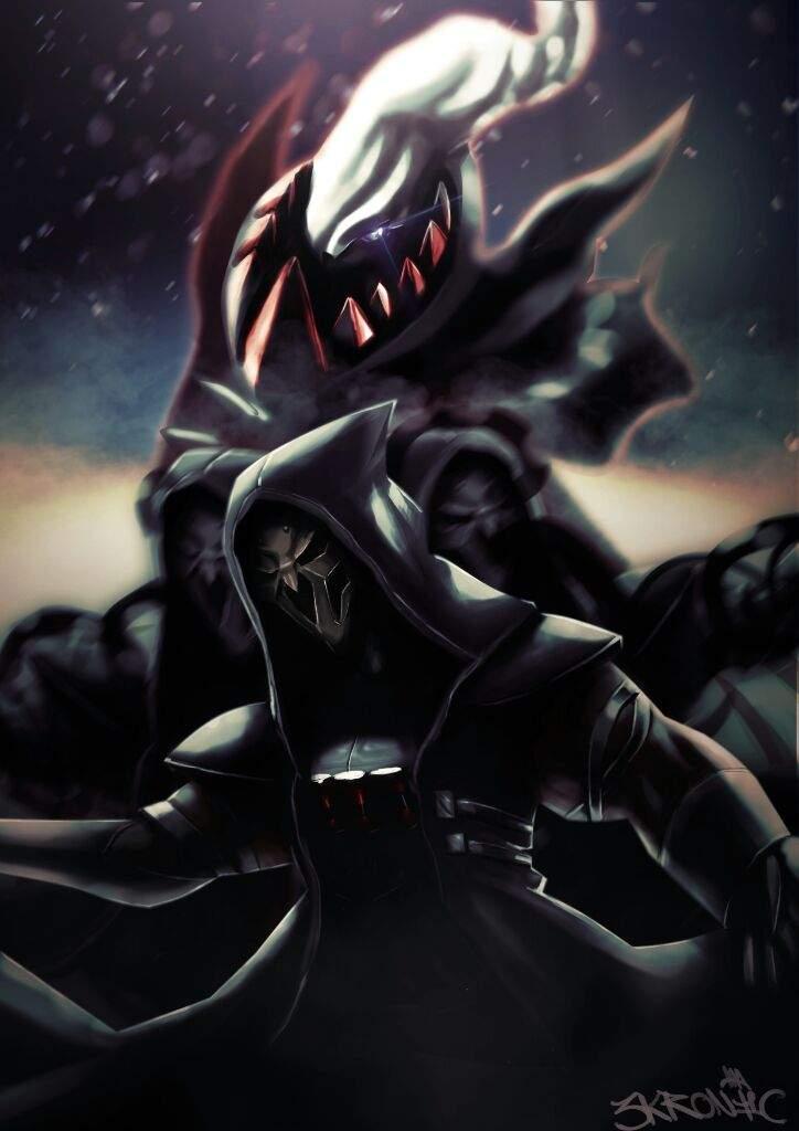 reaper darkrai pokémon amino