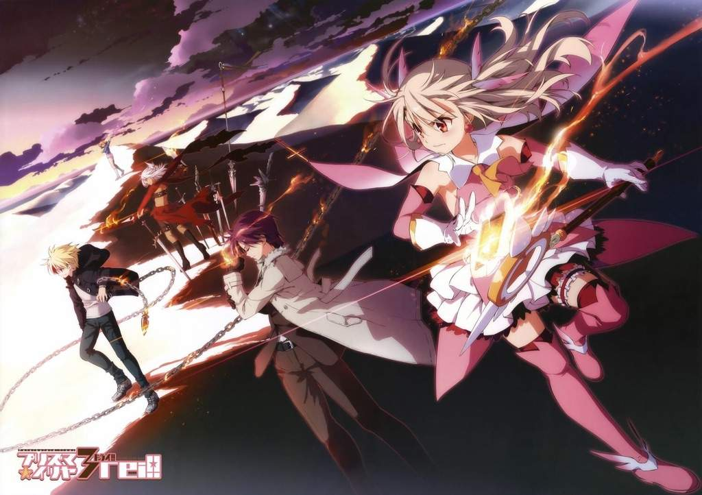 Fate Kaleid The Magical Girl Spin Off That Is So Dumb Its Actually Good In Fact This Was Way More Enjoyable Than Unlimited Blade Works