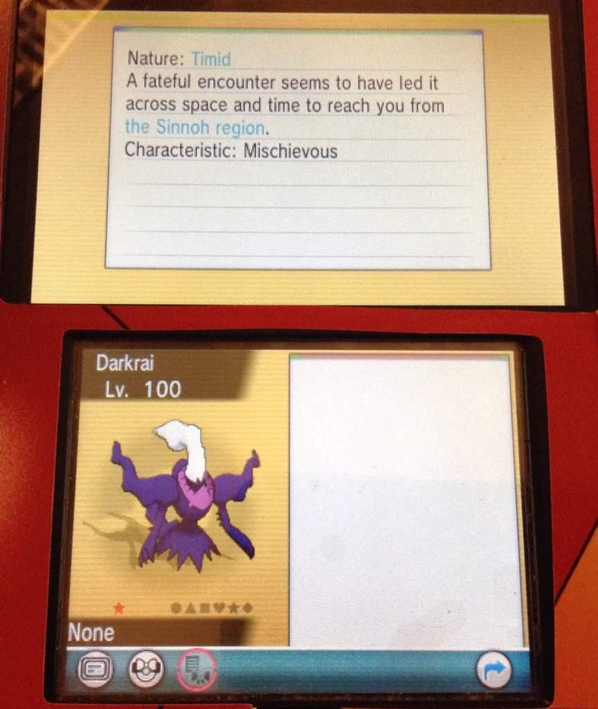 pokemon shiny darkrai giveaway