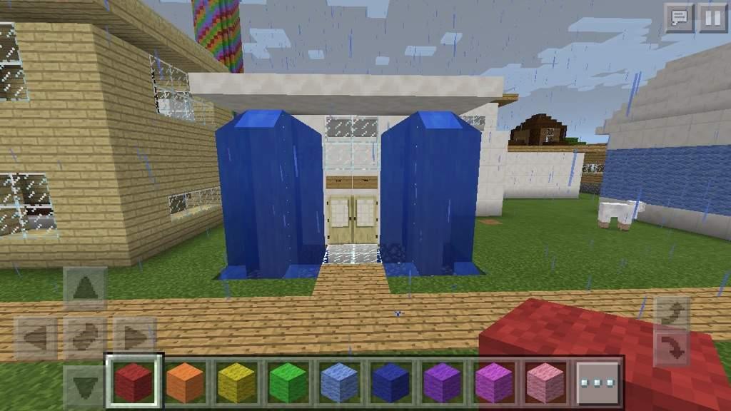Small Waterfall House Minecraft Amino