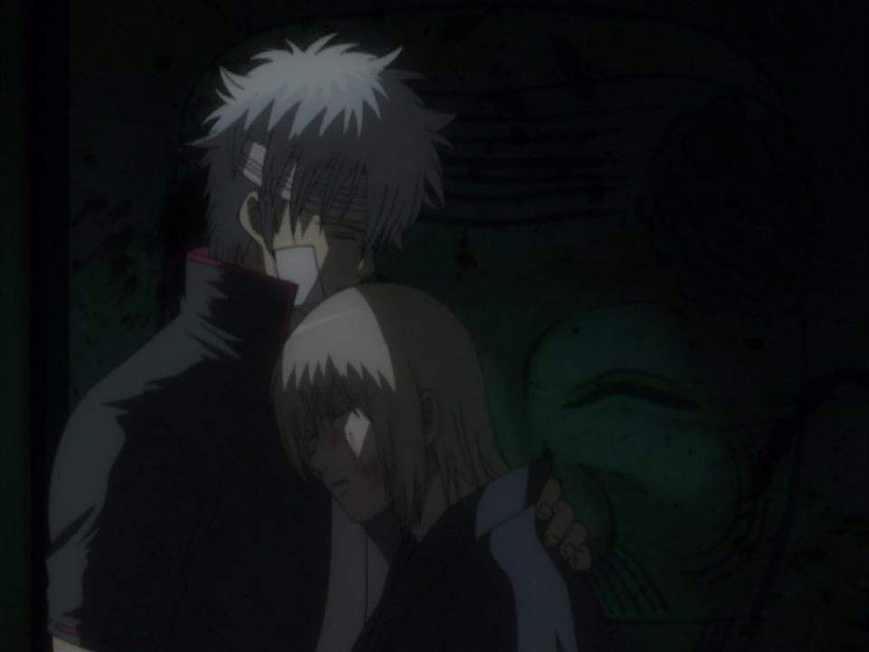 gintama gintoki and otae - photo #35