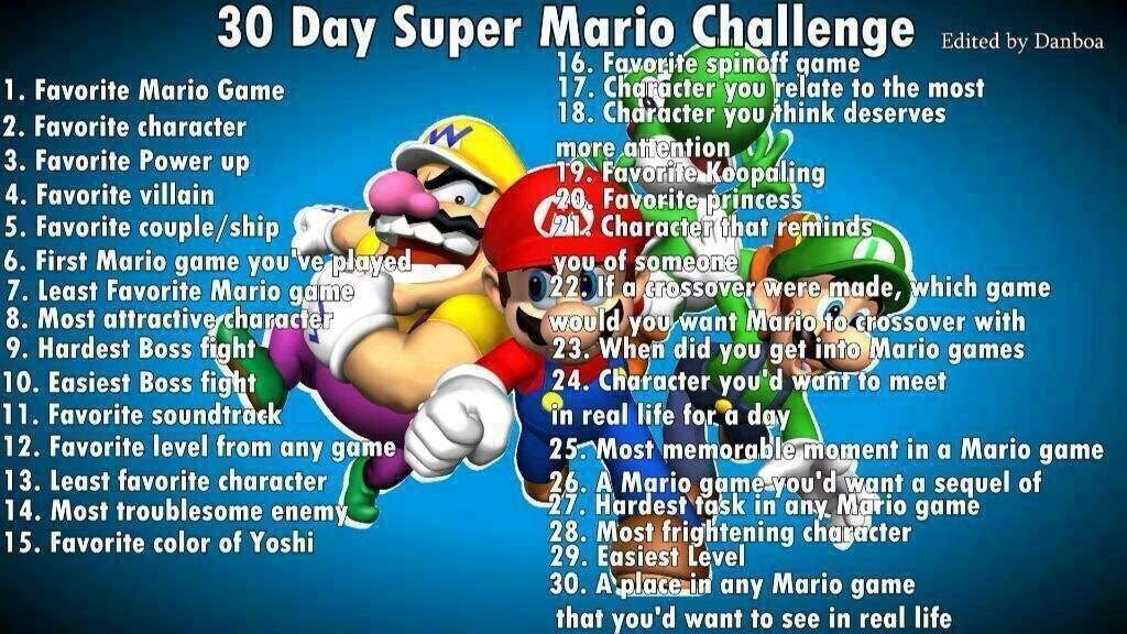 Super Mario Bros challenge day 10 | Mario Amino