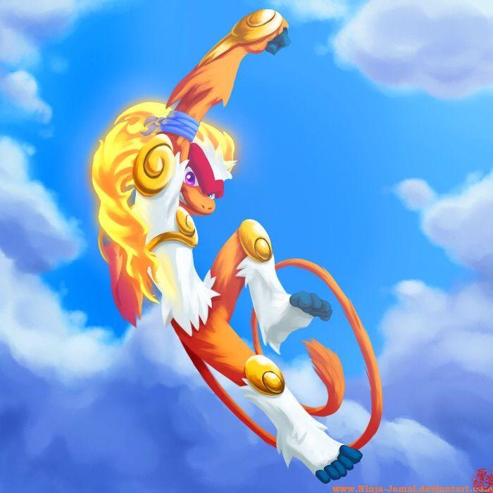 Guardians Post #33   Pokémon Mythology: Infernape & Sun ...