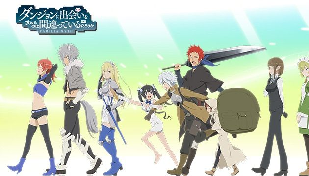 Anime Recommendation -DanMachi | Anime Amino
