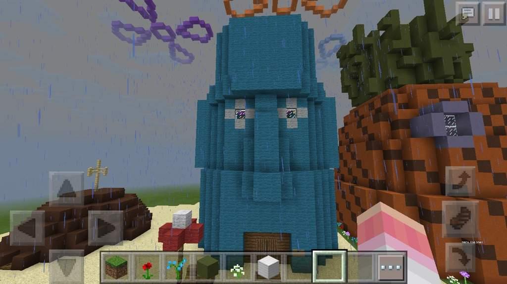 Building Bikini Bottom Ep 2 Minecraft Amino
