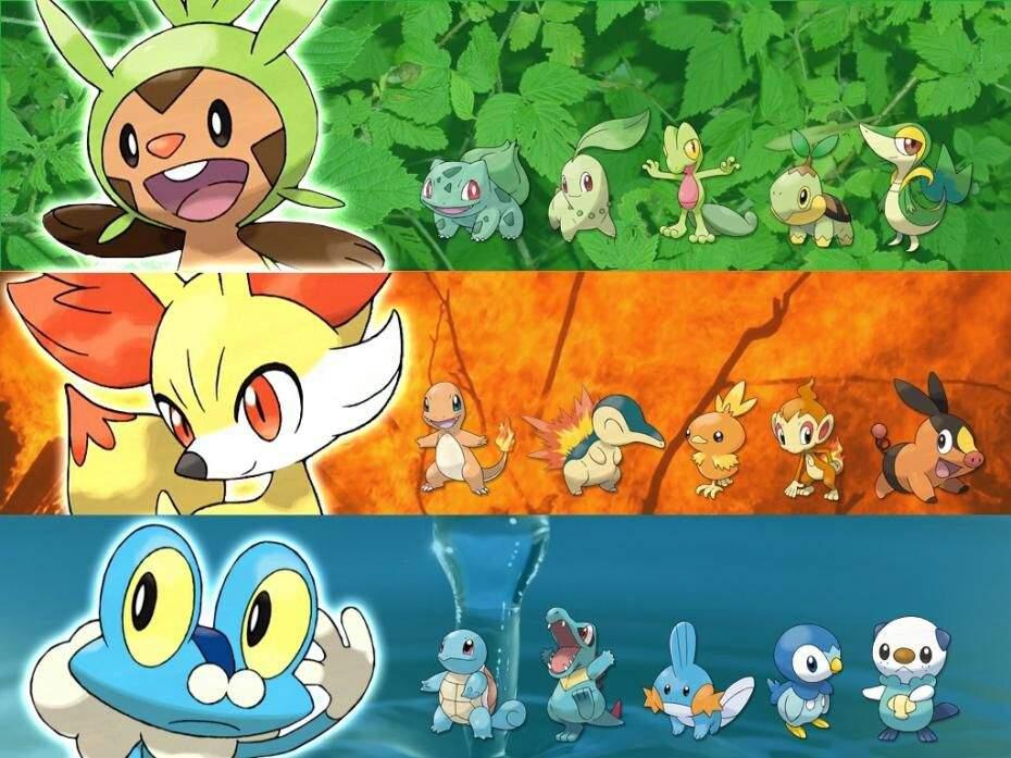 Retro Pokemon Iniciales en la Historia  Anime Amino