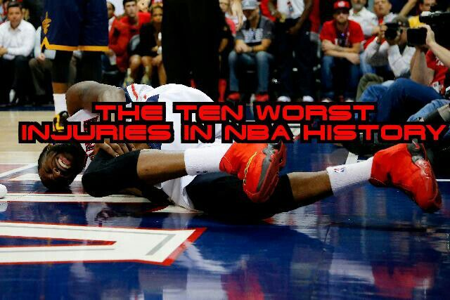The Ten Worst Injuries In NBA History | Hoops Amino