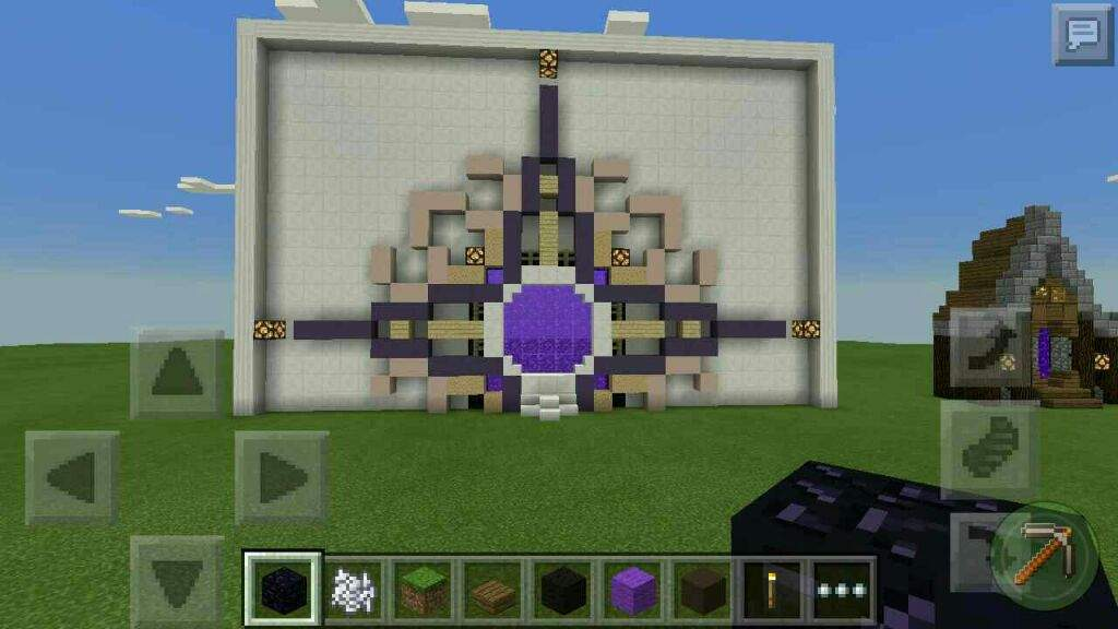 minecraft wall designs. Minecraft PE Builds | 5 Nether Portal Designs Wall