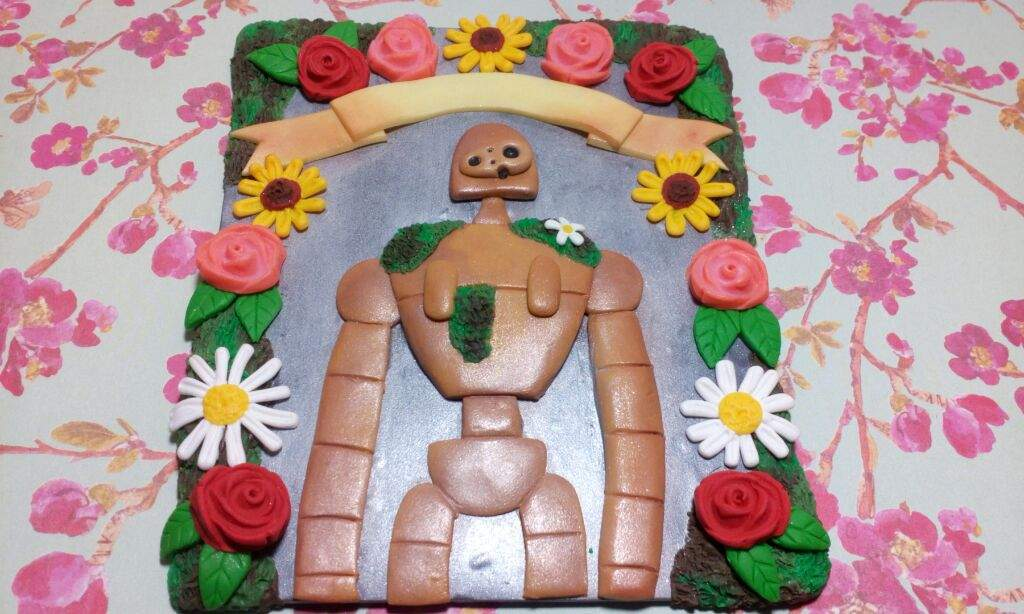 Castle In The Sky Robot Flower