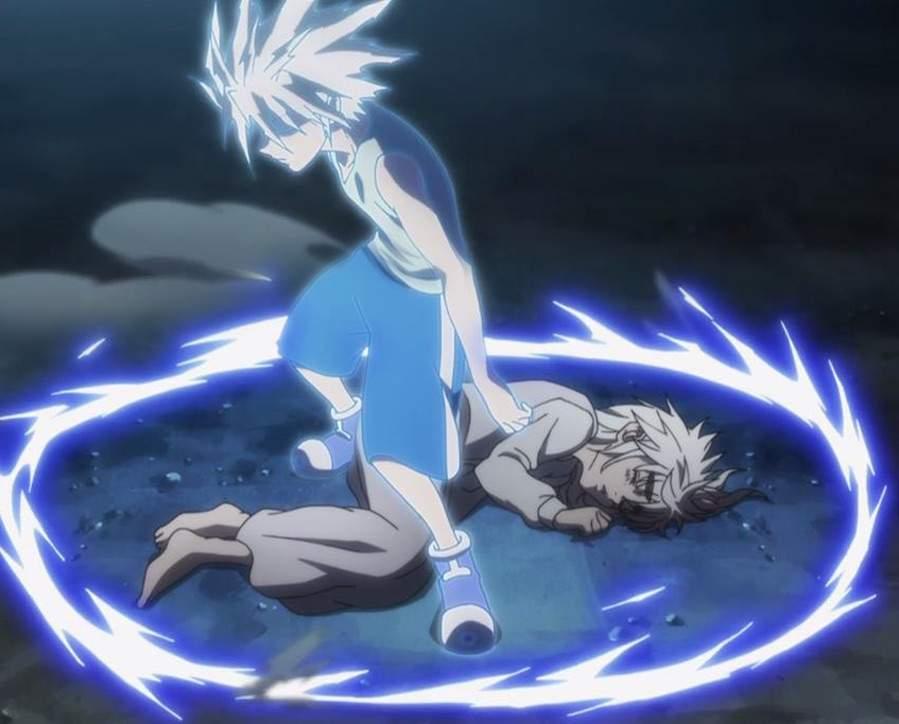Hunter x hunter thunderbolt godspeed anime amino voltagebd Image collections