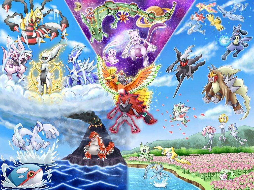 Legendarios Pokémon En Español Amino