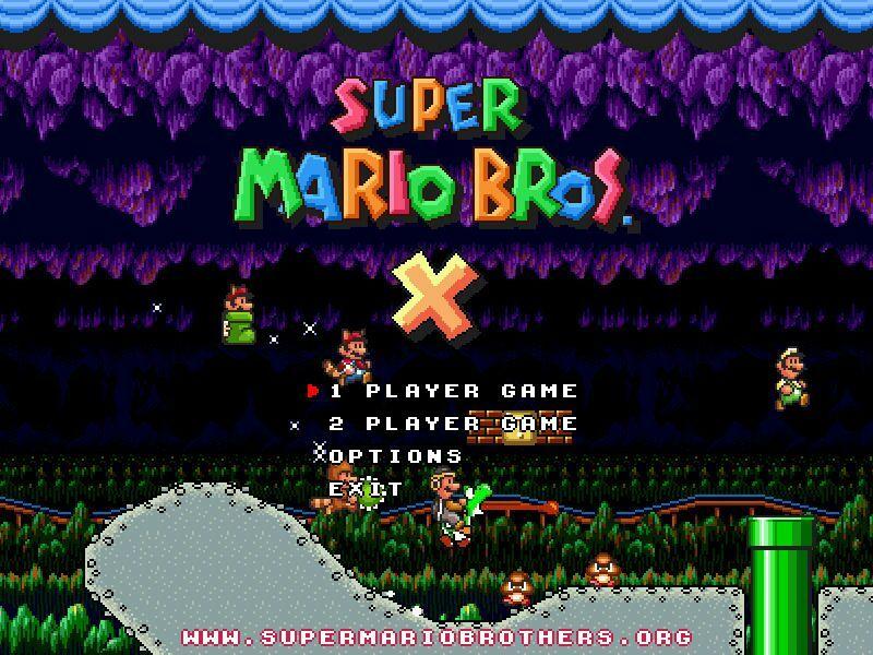 Super Mario Bros  X | Mario Amino