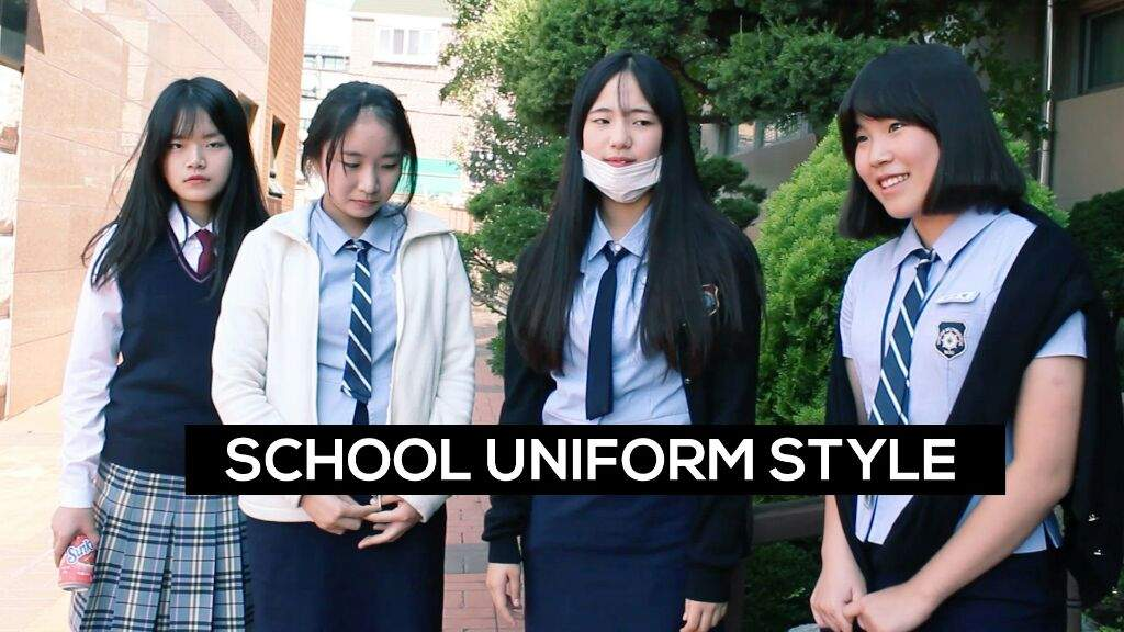 KOREAN School Uniform 🎒🎓📚