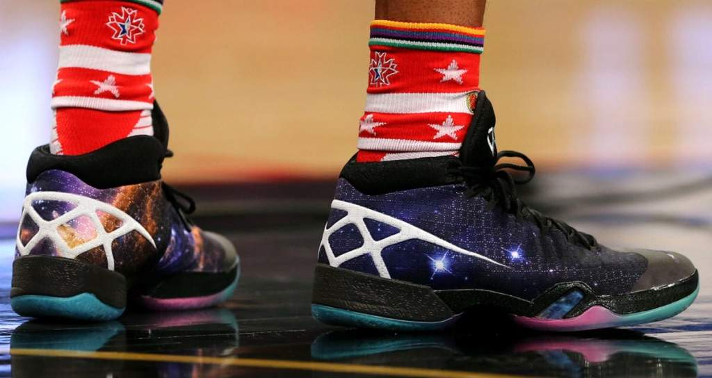huge discount e081e bad1f Dressed in a Cosmos graphic design similar to the one Tinker Hatfield  debuted during the Air Jordan XXX unveiling, the shoe receives a full  Northern Lights ...