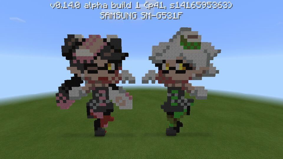 Callie And Marie Pixelart Kg Me Splatoon Amino