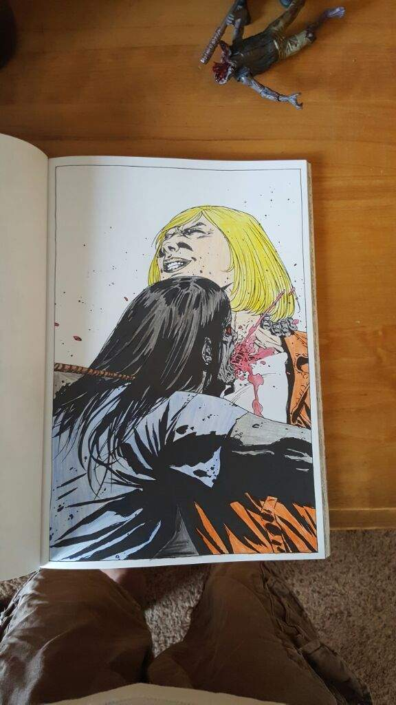 The Walking Dead Coloring Book Walkers Amino