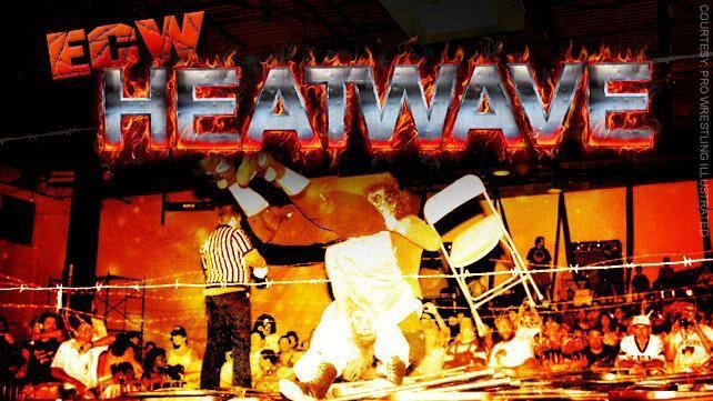 ECW PPV MATCHCARD HEATWAVE | Wrestling Amino