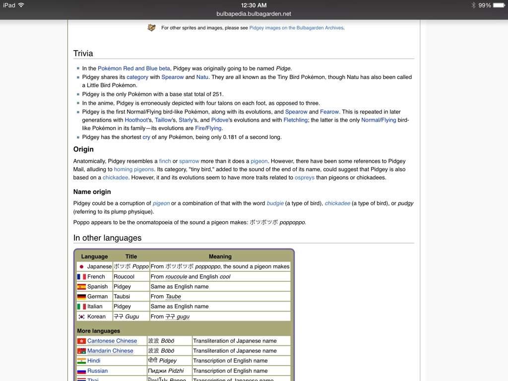 Pidgey   Wiki   Video Games Amino