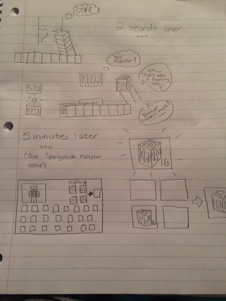 A short minecraft comic! | Minecraft Amino