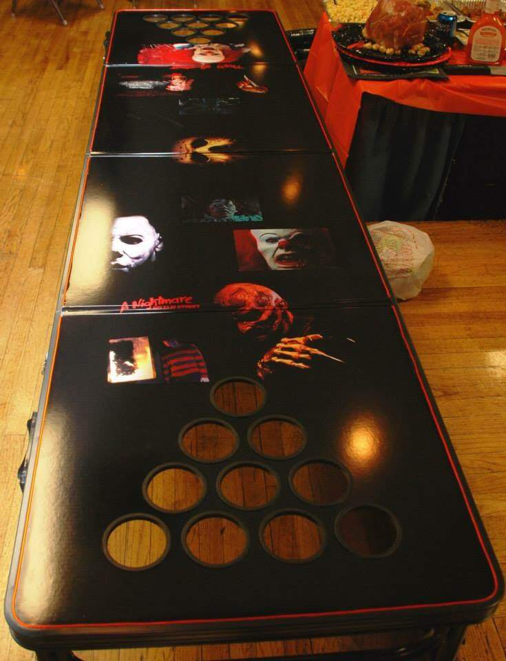 Amazing Beer Pong Of Horror Horror Amino Machost Co Dining Chair Design Ideas Machostcouk